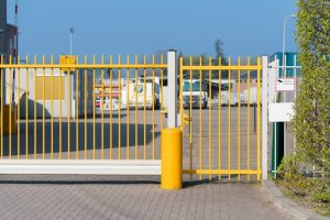 gate for access control timer